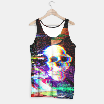 Miniature de image de Mr. Glitch Tank Top, Live Heroes
