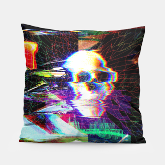Thumbnail image of Mr. Glitch Pillow, Live Heroes