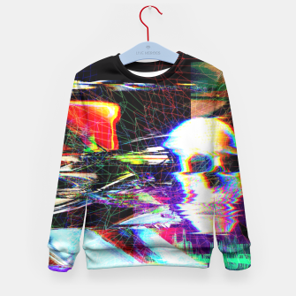 Thumbnail image of Mr. Glitch Kid's Sweater, Live Heroes