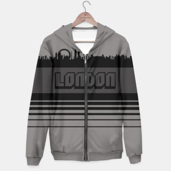 Thumbnail image of Skylines Collection: London Hoodie, Live Heroes