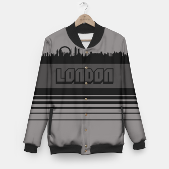 Thumbnail image of Skylines Collection: London Baseball Jacket, Live Heroes