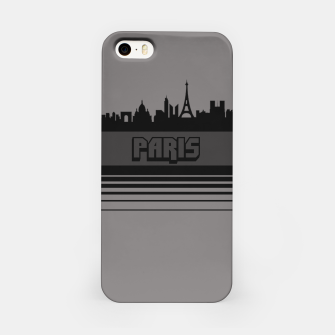 Thumbnail image of Skylines Collection: Paris  iPhone Case, Live Heroes