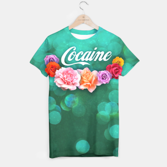 Thumbnail image of Cocaine T-shirt, Live Heroes