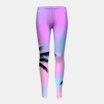 Thumbnail image of Lift Me Up Girl's Leggings, Live Heroes