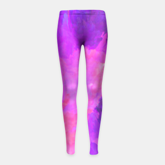 Thumbnail image of Livin High Girl's Leggings, Live Heroes