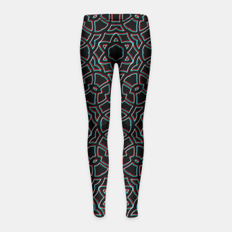 Thumbnail image of Shift Girl's Leggings, Live Heroes