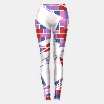 Thumbnail image of Out of the Box (Pattern_01) Leggings, Live Heroes