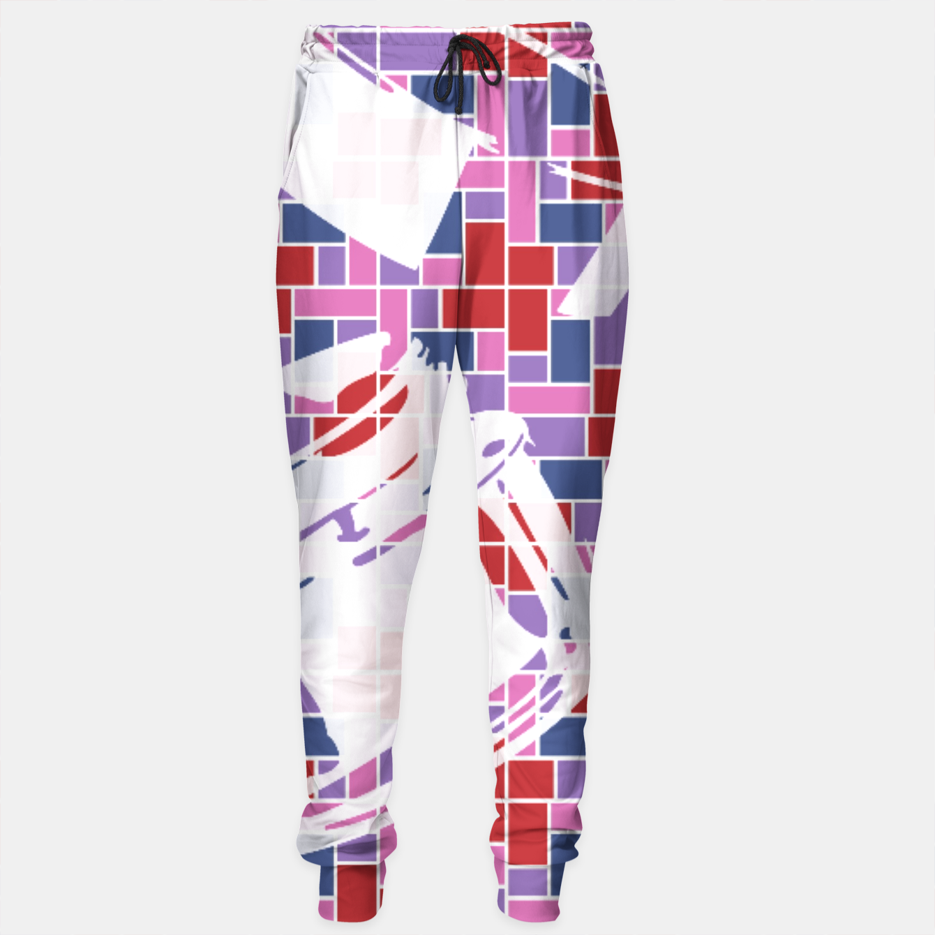 Image of Out of the Box (Pattern_01) Sweatpants - Live Heroes