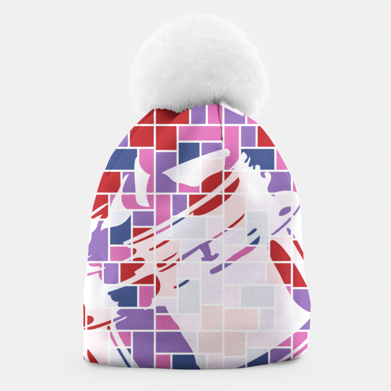 Image of Out of the Box (Pattern_01) Beanie - Live Heroes