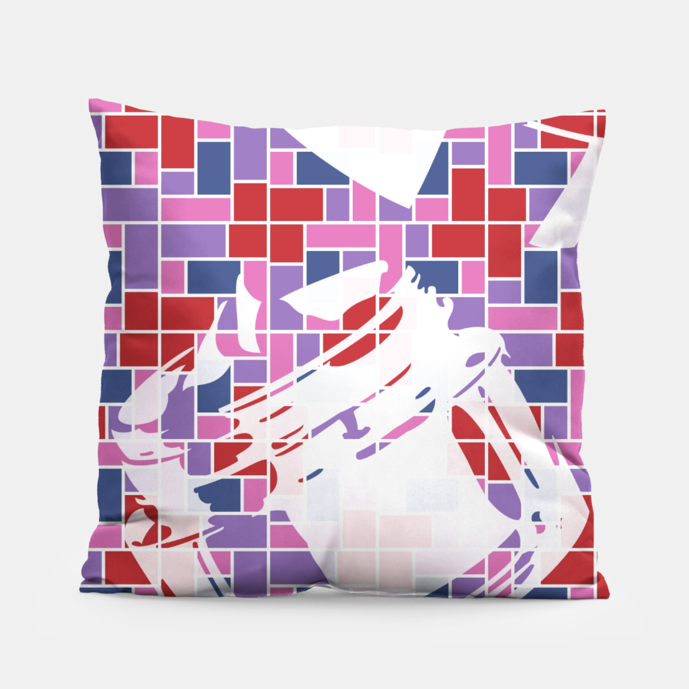Image of Out of the Box (Pattern_01) Pillow - Live Heroes