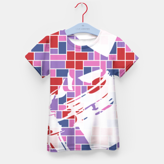 Thumbnail image of Out of the Box (Pattern_01) Kid's T-shirt, Live Heroes
