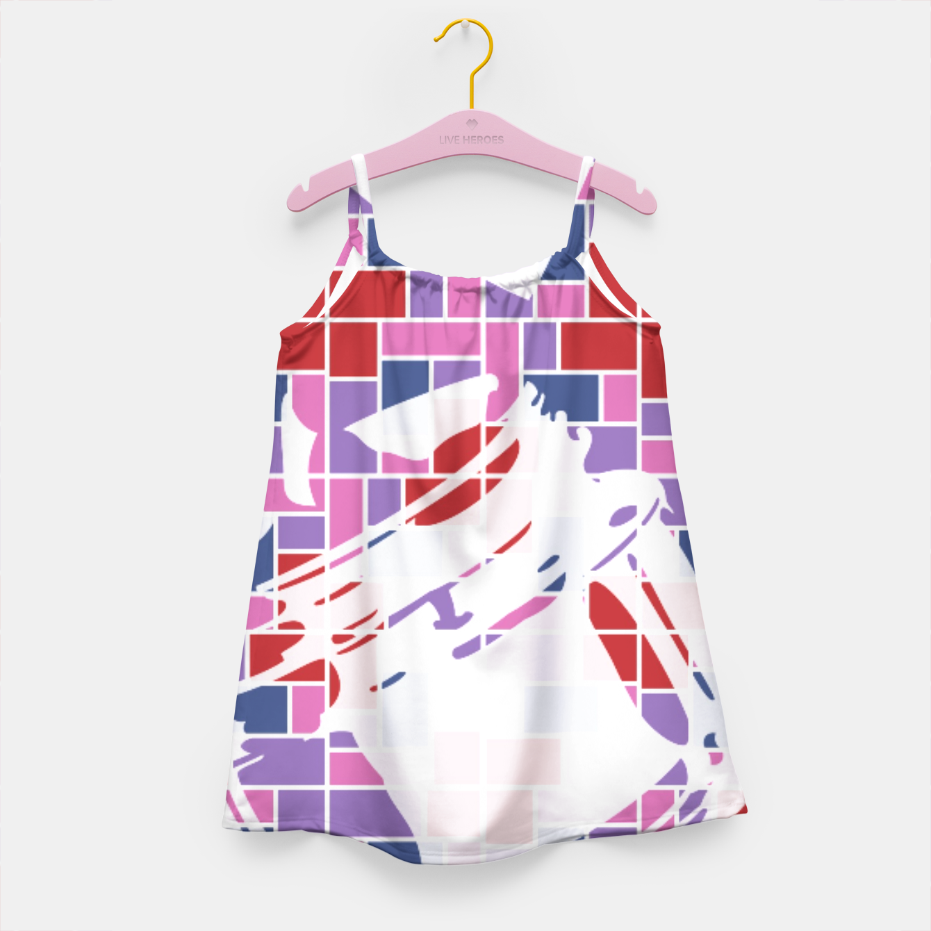 Image of Out of the Box (Pattern_01) Girl's Dress - Live Heroes