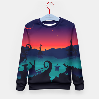 Thumbnail image of In my imagination  Kid's Sweater, Live Heroes