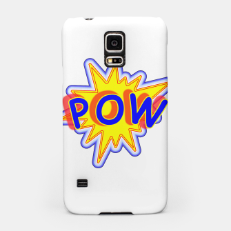 Thumbnail image of Pow Fun Bright Comic Book Popping Graphic Samsung Case, Live Heroes