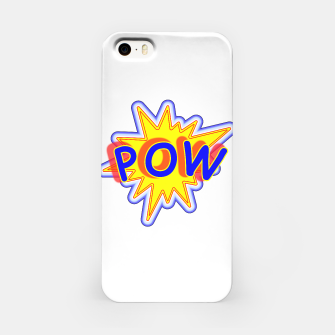 Thumbnail image of Pow Fun Bright Comic Book Popping Graphic iPhone Case, Live Heroes