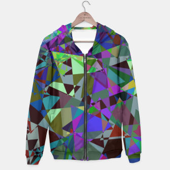 Thumbnail image of Trippy Florescent Psychotic Mess Hoodie, Live Heroes