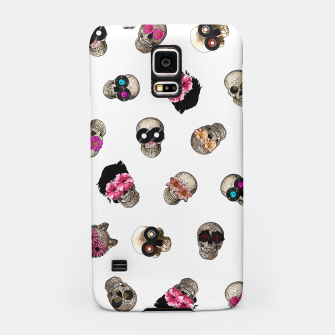 Thumbnail image of Skulls & Vinyl Samsung Case, Live Heroes