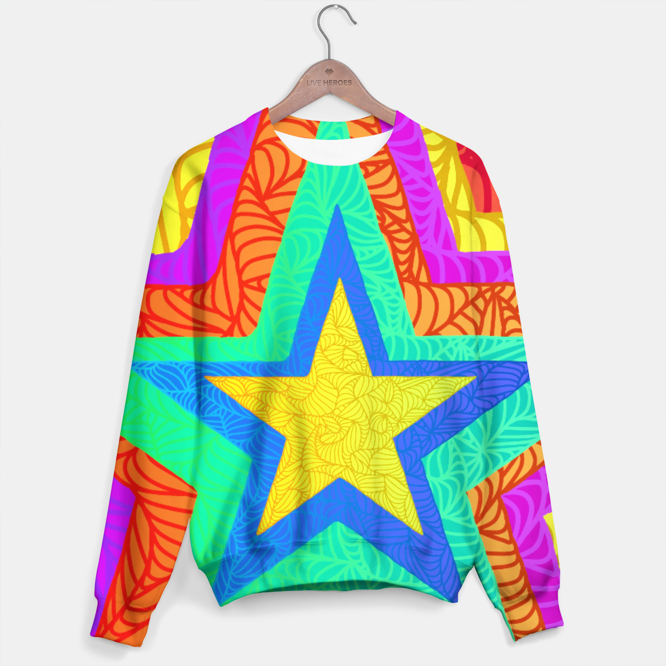 Image of strbw Sweater - Live Heroes