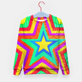 Thumbnail image of strbw Kid's Sweater, Live Heroes