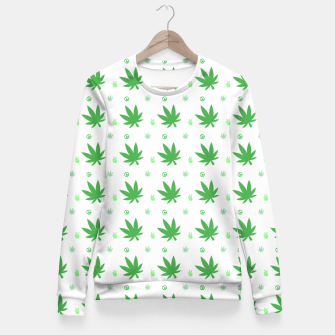 Thumbnail image of Smoking Peace Fitted Waist Sweater, Live Heroes