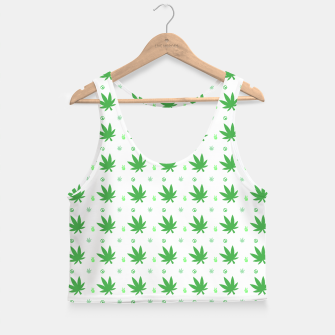 Thumbnail image of Smoking Peace Crop Top, Live Heroes