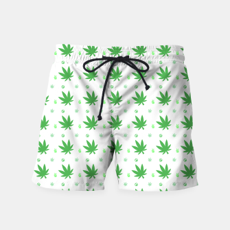 Thumbnail image of Smoking Peace Swim Shorts, Live Heroes