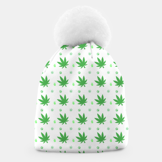 Thumbnail image of Smoking Peace Beanie, Live Heroes