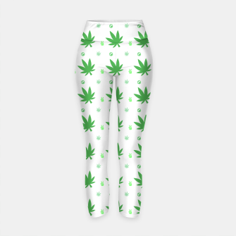 Thumbnail image of Smoking Peace Yoga Pants, Live Heroes