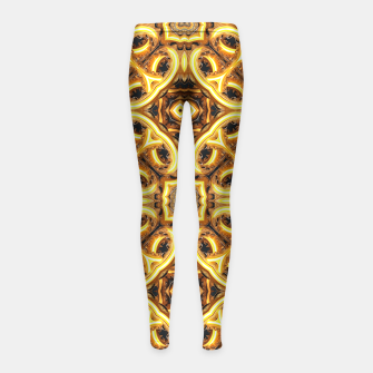 Thumbnail image of Boujee Girl's Leggings, Live Heroes