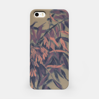 Thumbnail image of Ash-tree in olive, brown & blush iPhone Case, Live Heroes