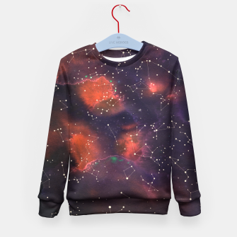 Thumbnail image of Le Cosmos  Kid's Sweater, Live Heroes