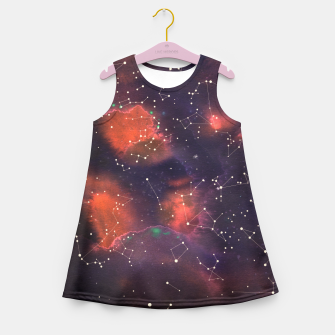 Thumbnail image of Le Cosmos  Girl's Summer Dress, Live Heroes