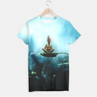 Thumbnail image of Temporary Peace Camiseta, Live Heroes