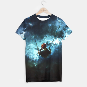 Thumbnail image of Travel is dangeous Camiseta, Live Heroes