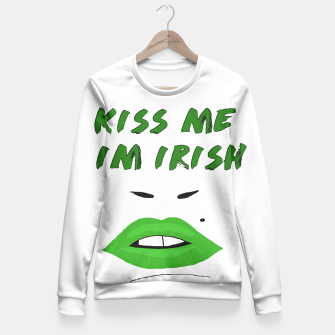 Thumbnail image of I'm Irish Fitted Waist Sweater, Live Heroes