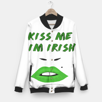 Thumbnail image of I'm Irish Baseball Jacket, Live Heroes