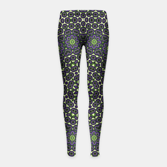 Thumbnail image of Trouble Girl's Leggings, Live Heroes