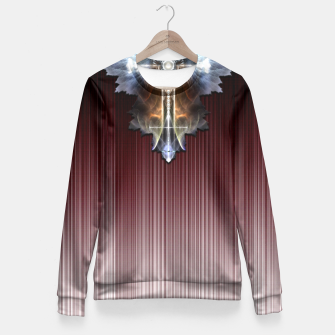Thumbnail image of Blast Streak Emblem Wings Fitted Waist Sweater, Live Heroes