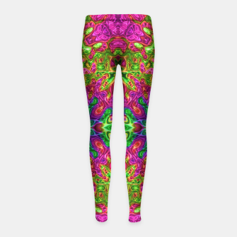 Thumbnail image of Drip Girl's Leggings, Live Heroes