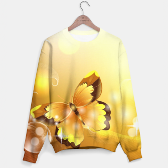 Thumbnail image of Yellow Butterfly Sweater, Live Heroes