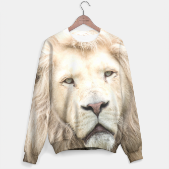 Thumbnail image of White Lion Sweater, Live Heroes