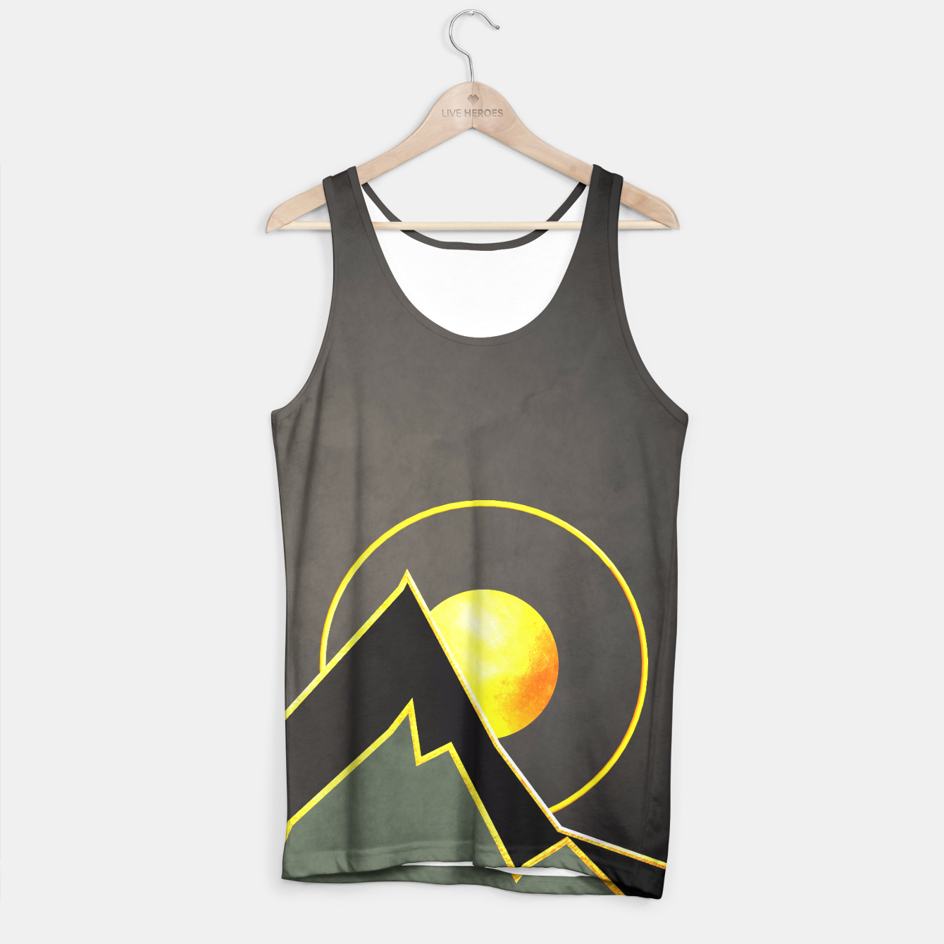 Foto Mountains Tank Top - Live Heroes