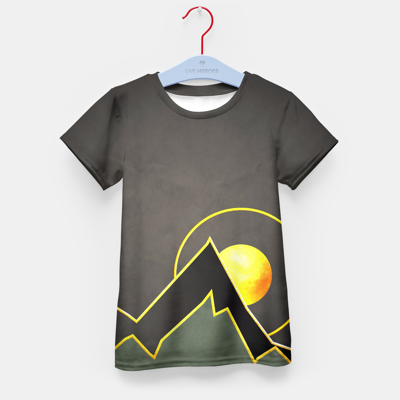 Foto Mountains Kid's T-shirt - Live Heroes