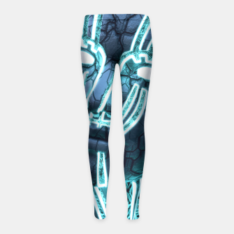 Thumbnail image of Transcend Girl's Leggings, Live Heroes
