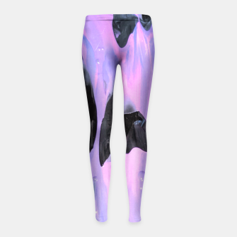 Thumbnail image of Slide Girl's Leggings, Live Heroes