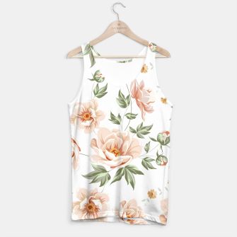 "Miniatur Tank Top for Women""Flowers Nude"" , Live Heroes"