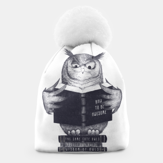 Thumbnail image of Wise Owl Beanie, Live Heroes