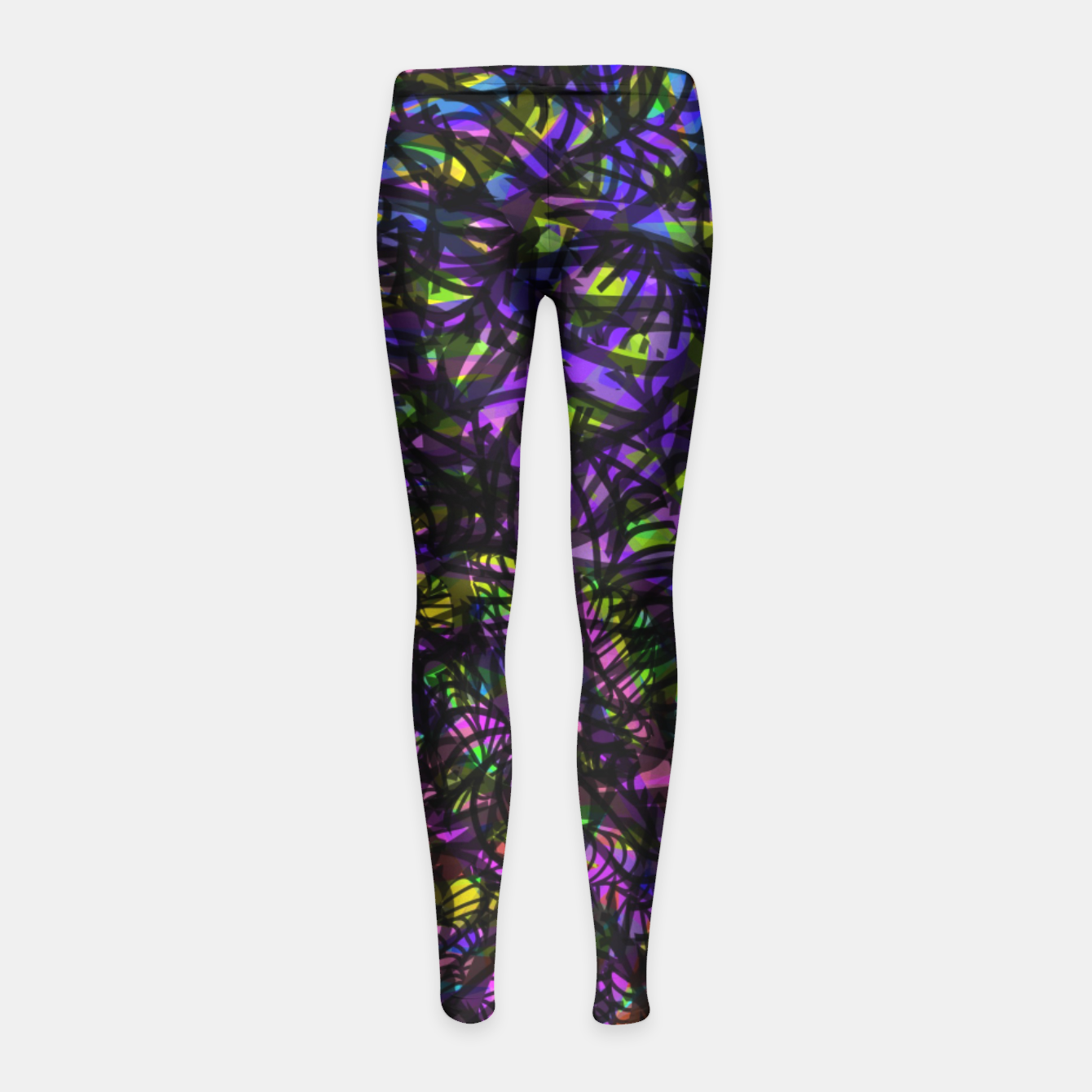 Image of lp2 Girl's Leggings - Live Heroes
