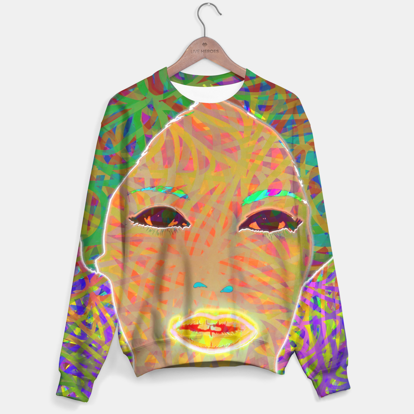 Image of w002 Sweater - Live Heroes