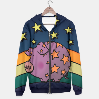 Thumbnail image of Peter the magic pig Hoodie, Live Heroes